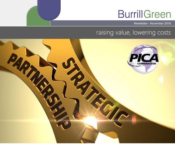 Burrill Green - PICA Stategic Partnership.
