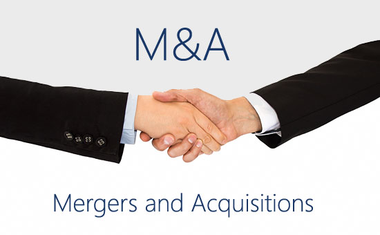 Mergers and acquisitions.